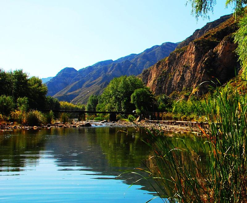 门头沟龙门涧,珍珠湖,灵水举人村风景名胜区再开发,小